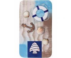 Tappetino per bagno Maritim in memory foam (Blu) - bpc living
