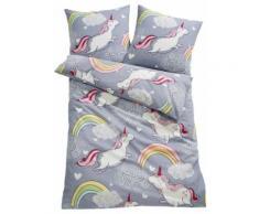 Biancheria da letto Unicorno (Grigio) - bpc living