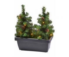 Fioriera da balcone Alberi di Natale (pacco da 1) (Marrone) - bpc living