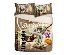 Biancheria letto Basket (Beige) - Euronova