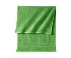 Serie di asciugamani in tinta unita New Uni (Verde) - bpc living