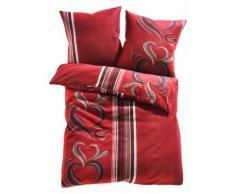 Biancheria da letto Cassandra (Rosso) - bpc living