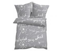Biancheria da letto Wish you what (Grigio) - bpc living