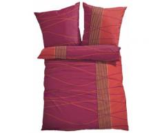Biancheria da letto Onde (Rosso) - bpc living