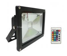 - Faretto LED RGB 20W con telecomando alta luminosita LED spot faro led Rgb