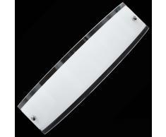 Lampada APPLIQUE luce E14 da parete Vetro arredo casa lampade Senza Tempo