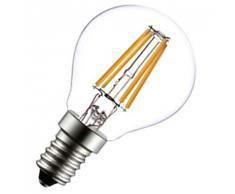 Lampadina Led E14 6w Compatto Piccolo 230v Silamp led Filamento