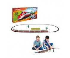 lima Treno freccia rossa lima scala 1:87 modellino a batterie etr500 pista frecciarossa gioco