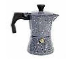 Caffettiera effetto pietra moka 1 tazza macchina del caffè per espresso