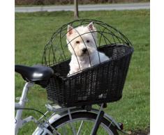 Cesta da bici Trixie con griglia - L 49 x P 35 x H 55 cm