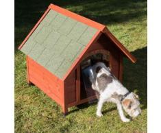 Cuccia per cani Spike Eco comfort con porta - L 72 x P 76 x H 76 cm