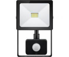 Faretto LED da Esterno 10W Slim Classic con Rilevatore di...