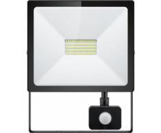Faretto LED da Esterno 50W Slim Classic con Rilevatore di...