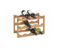 Scaffale in legno per vino Wenko