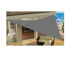 Tenda da sole triangolare: Grigio antracite / 4 x 4 x 4 m