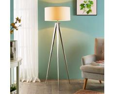 Lampenwelt.com Piacevole lampada da terra Benik con treppiede