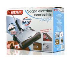 Scopa elettrica ricaricabile senza fili Beper