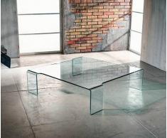 Duzzle Tavolino In Vetro Prince
