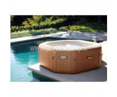 Idromassaggio gonfiabile Intex 28408 Bubble spa vasca rotonda 216x71 cm