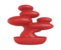 MYYOUR lampada da tavolo BONSAI (Rosso da interni - Polietilene)