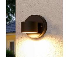 Applique LED da esterni Lexi, grafite