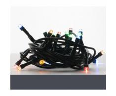 Luci Natalizie Catena Luminosa Serie di Luci per Presepe 20 LED a Luce Fissa Multicolor