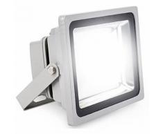 FARO FARETTO A LED ULTRA SLIM A LUCE CALDA FREDDA RGB DA PER ESTERNO IP65 220V | Fredda - Slim - 80
