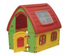 Casetta per Bambini da Giardino in Plastica Arredo Esterno Giocattolo Bimbi PVC