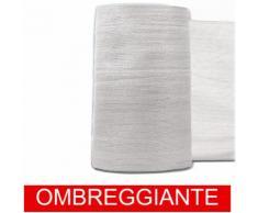 STI Rete Ombreggiante Ombra Telo Bianco Frangisole Frangivista Recinzione H. 300cm x 50mt