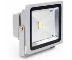 FARO FARETTO A LED ULTRA SLIM A LUCE CALDA FREDDA RGB DA PER ESTERNO IP65 220V | Calda - Slim - 100