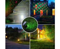 Proiettore laser pannello solare illuminazione esterna natale picchetto esterno