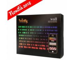 TWINKLY LUCI DI NATALE 225 LED MULTICOLOR TENDA H80CM CONTROLLABILE DA SMARTPHONE ADDOBBI