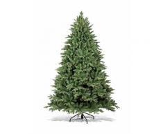 Albero di natale abete artificiale 180 cm o 210 cm con in regalo 10 mt luci altezza (cm) 180 cm