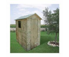 Casetta Box Capanno In Legno Per Attrezzi Con Porta E Finestra 150x213x216cm