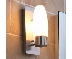 Marian - lampada da parete per bagno con LED E14