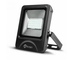 5×Proiettore Luce LED Faretto Per Esterno 30W 3600LM SMD 3030 Impermeabile IP66 Bianco Caldo 3000K