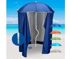 Ombrellone mare GiraFacile 200 Cm Protezione UV tenda spiaggia pesca ZEUS | Blu