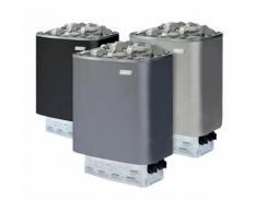 Stufa sauna NARVI prima qualità finlandese NM da 4.5 a 9 kw | Grigio - 9 kW - 400V trifase