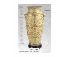 Portaombrelli decorazione classica oro h55cm arredo ingresso casa 2207-R01-22
