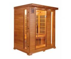 Sauna a raggi infrarossi ATHENA da 3 posti