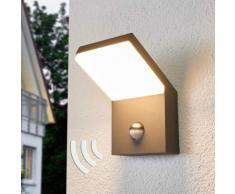 Applique LED da esterni Yolena con sensore