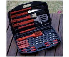 Accesorio barbecue Barbuc - 18 pezzi -Rosso/Nero