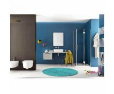 Cassettone e mensola sospesi per bagno di design 90 cm color tortora