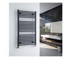 Loa Scaldasalviette Idraulico Antracite - Design Piatto - 677W - 1000 x 600 mm