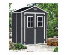 Keter Box Casetta in resina da giardino 185x152x226cm Manor 6x5 K235170