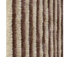 Tenda Ciniglia da sole antimosche dim. 120x230, beige/marrone. Num. di fili: 28