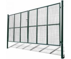 Cancello a Rete per Giardino 415 x 225 cm / 400 x 175 cm