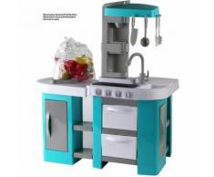 Cucina Giocattolo My Chef Per Bambini Cucina Gioco Con Luci e Suoni Azzurro