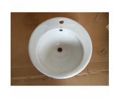 Lavandino lavabo soprapiano tondo ideal standard da incasso Ø cm 50 (c3