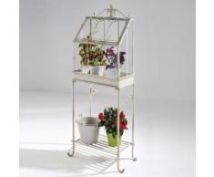Mini-serra Flower House 55x30x140cm, fioriera espositore fiori giardino balconi